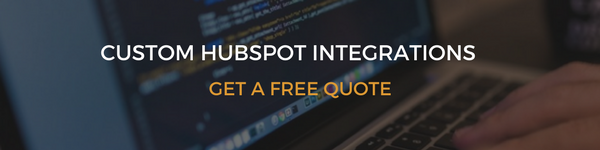 Custom and developed HubSpot API integrations